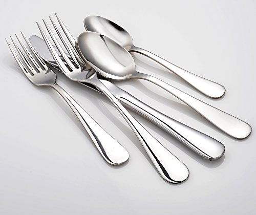 Liberty Tabletop Annapolis 20 Piece Flatware Set service for 4 stainless steel 18/10 Made in USA by Liberty Tabletop (Image #1)