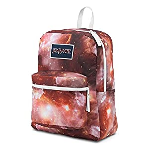 JanSport Classic SupberBreak OVEREXPOSED BACKPACK - MULTI RED GALAXY