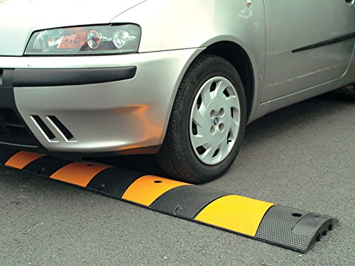 Instant Speed Ramp / Sleeping Policeman with Cable Channel for Tarmac Central Source