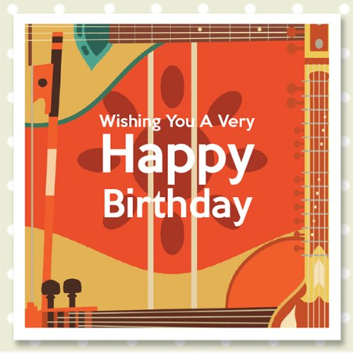 Happy Birthday Cards With A Music Theme JULIAN Amazoncouk Kitchen Home
