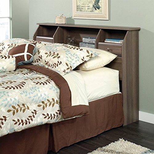 Sauder Shoal Creek Full/Double Bookcase Headboard, diamond ash (Ash Queen Size Bed)