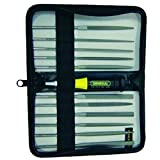 General Tools 707475, 12-Piece Chromium Alloy Steel Needle File Set, 15 Sets of 12 psc