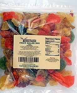 Yankee Traders Brand, Tropical Fruit Salad / Dried Fruit - 2 Lbs.