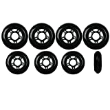 Player's Choice Outdoor Roller Hockey Wheels Hilo Set 4-76mm 4-80mm 82a