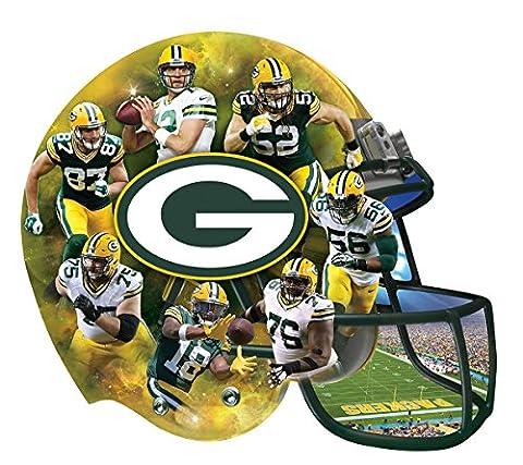 NFL Green Bay Packers 500 Piece Helmet Puzzle (Packer Jordy)