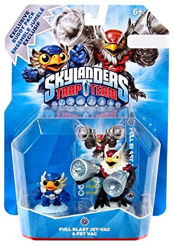 (Skylanders Trap Team Full Blast Jet-Vac & Pet Vac Buddy Pack [video game])