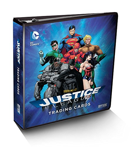 DC Comics Justice League Trading Card Binder Album with TF-15 Costume by DC Comics