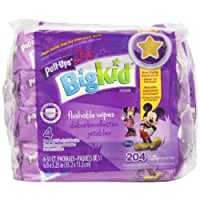 Pull-Ups Big Kid Flushable Wipes - 204 CT by Pull-Ups