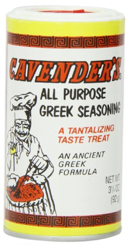 Cavender's Greek Seasoning, 3 1/4-Ounce Shakers (Pack of 12) ()
