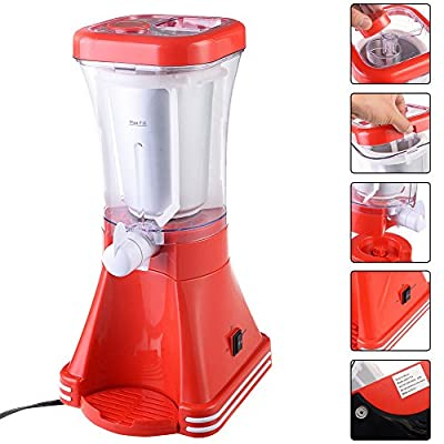 douself Slush Drink Maker Retro Blender Ice Slushie Margarita Slurpee Frozen Machine