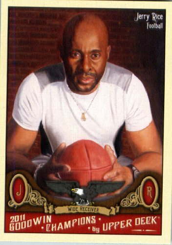 2011 Upper Deck Goodwin Champions 83 Jerry Rice - Football Player - Sports Trading Card - Jerry Rice Football Player