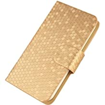 HTC Desire 816 Casing Glitz Cover Case (Gold) - Free 1 x Clear Screen Protector worth $4.99