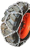 TireChain.com 4.00/4.80 X 8, 4.00 x 8, 4.80 x 8, 16 X 4.8 X 8, 4 X 4.80 X 8 European Diamond Style Tire Chains