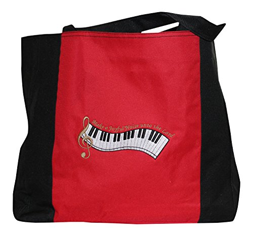 christian-themed-tote-bag-make-a-joyful-noise