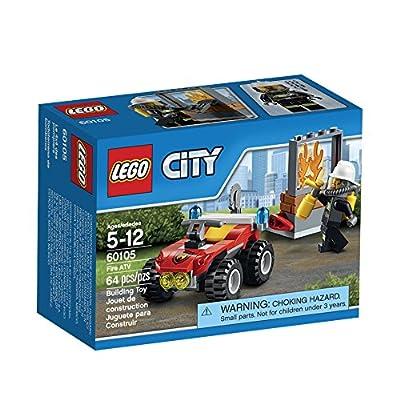 LEGO CITY Fire ATV 60105: Toys & Games