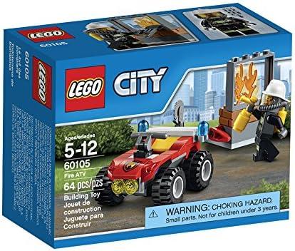 LEGO CITY Fire ATV 60105