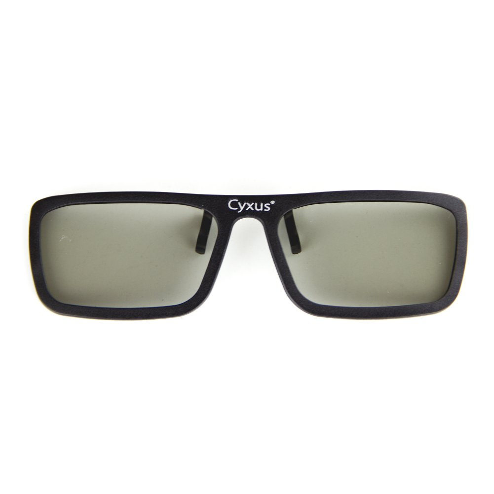 4fe763885b3d Amazon.com  Cyxus 3D Clip On Glasses  Lightweight Clear  For Movies Cinema TV  Active Eyewear  Home Audio   Theater