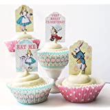 Alice in Wonderland Cupcake Kit