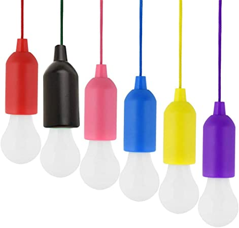 Kabellose LED Licht Schnurschalter Leselampe Batterie Lampe