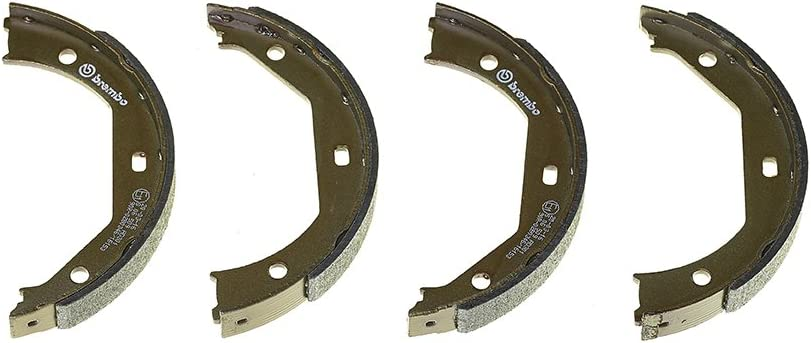 Anzahl 4 Brembo S23579 Bremsbacken f/ür Handbremsen