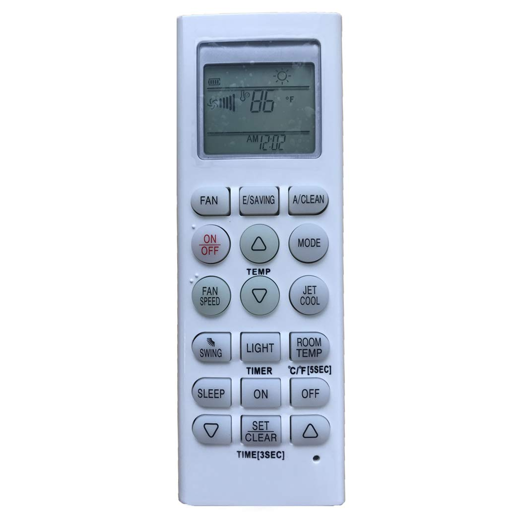 YING RAY Replacement for LG Air Conditioner Remote Control for Model 6711A90032U ZHUHAI YINGRAY TRADING CO. LTD. UNIVERSAL-LG-2018080309