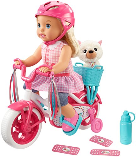 Learn To Ride Bike - Little Mommy Learn to Ride Doll