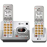 AT&T EL52253 Cordless Phone with 2 Handset, Answering System, Caller ID/Call Waiting, DECT 6.0 Digital Technology