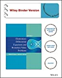 img - for Elementary Differential Equations and Boundary Value Problems 10e Binder Ready Version + WileyPLUS Registration Card book / textbook / text book