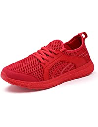 Women's Casual Sneakers Ultra Lightweight Breathable Mesh Sport Walking Running Shoes