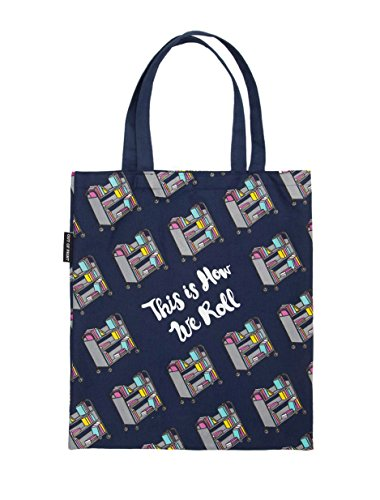 Out of Print This Is How We Roll Tote Bag, 15 X 17 Inches (Roll Tote Bags)