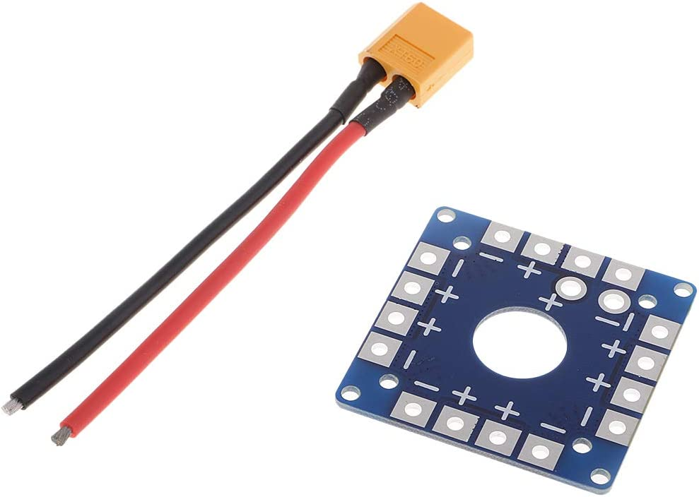 sharprepublic ESC Power Distribution Board With Adapter For MWC APM Quads XT60 Plug Cable