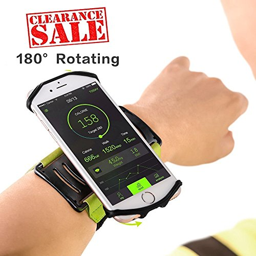 Yimaler Running Wristband Phone Holder for iPho...