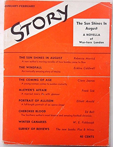 STORY: Devoted Solely to the Short Story, Jan/Feb 1942