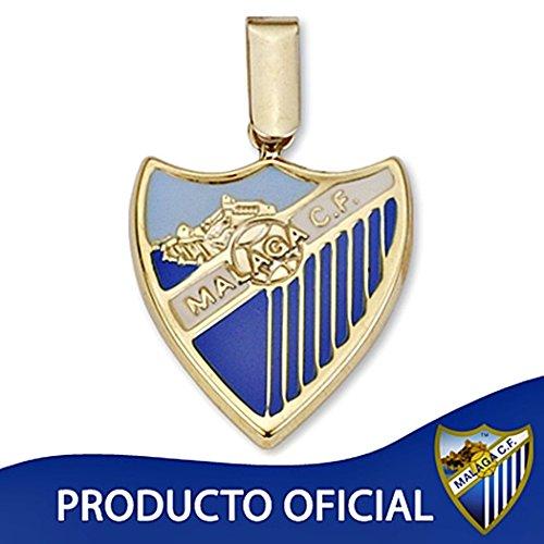 Pendentif loi bouclier Málaga CF 9k 19mm d'or. [8721] - Modèle: 0560-012