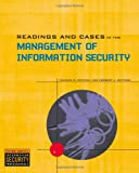 Readings and Cases in the Management of Information Security, Michael E. Whitman and Herbert J. Mattord, 0619216271