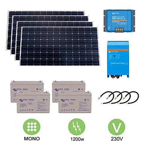 Kit fotovoltaico de 1,2 KW a 230 V