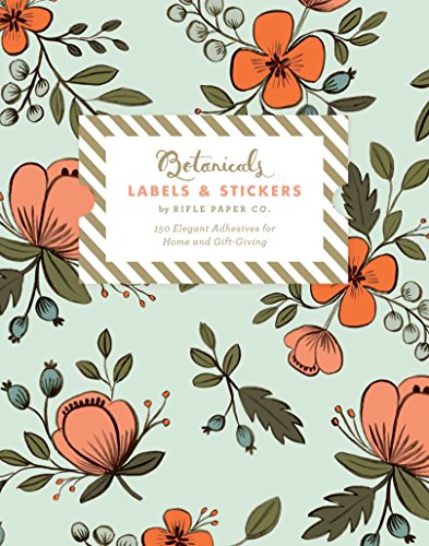 Botanicals Labels & Stickers: 150 Elegant Adhesives for Home and Gift-Giving ()