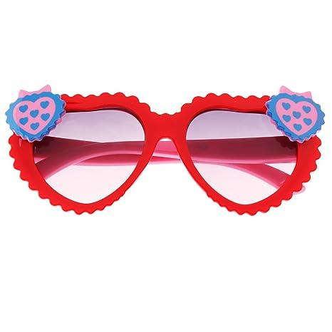 Prettyia Moda Niños Niñas Al Aire Libre UV 400 Gafas De Sol ...