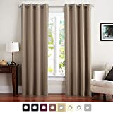 Light Blocking Curtains Vangao Home Decorative Light Blocking Draperies Thermal Insulated Solid Grommet Top Window Blackout Curtains/Drapes/panels for Kids/Living Room 1 Panel 84