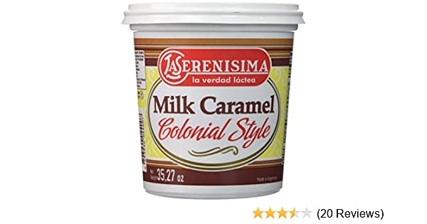 Amazon.com : La Serenisima Dulce de Leche 1 kilo : Jams And Preserves : Grocery & Gourmet Food