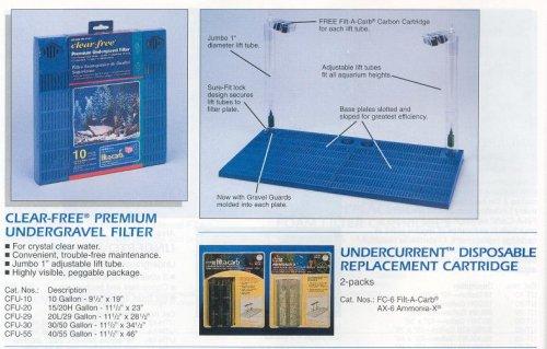 Undergravel Filter Set Up (Penn Plax Prem Ug Fltr-10G)