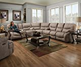 Best Motion Sofas - Simmons Upholstery 50455BR-53 Palermo Shale Double Motion Sofa Review
