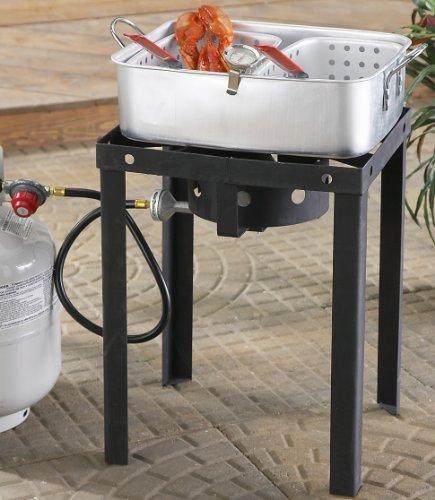 Outdoor Dual 18 – qt. Propane Deep Fryer, Outdoor Stuffs