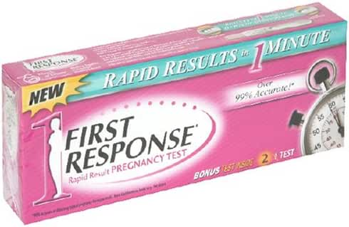 First Response Rapid Results Test, 2 ct