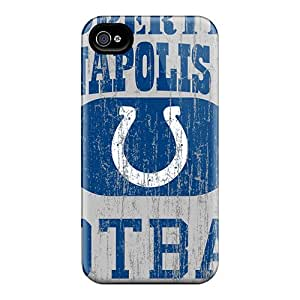 New Fashion Premium Tpu Case Cover For Iphone 4/4s - Indianapolis Colts