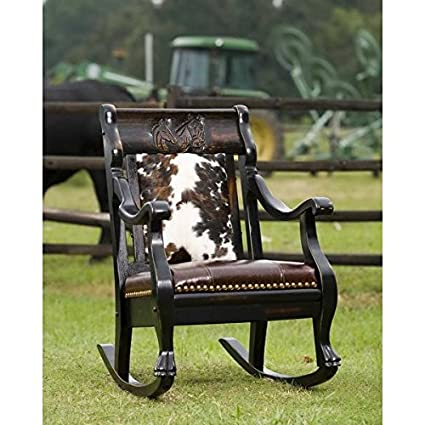 Country Roadu0027s Cattle Rancher Rocking Chair
