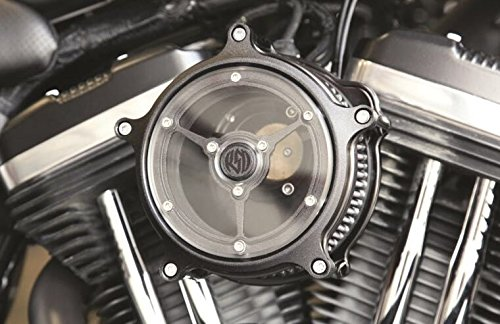HAPPY-MOTOR Contrast Cut Black Nostalgia Venturi Air Cleaner for harley Sportster 883 Low XL883L air filters sportster 883 1991-2018
