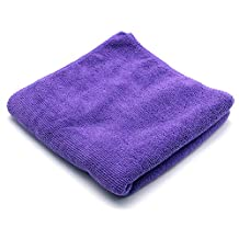 So Beauty Premium Quality Fast Drying Microfiber Hair Towel Purple