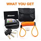 Bibowa Disc Brake Lock with Alarm - Anti -Theft