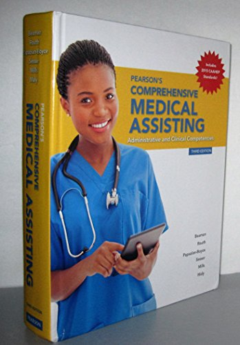 Pearson's Comprehensive Medical Assisting (3rd Edition) by Pearson